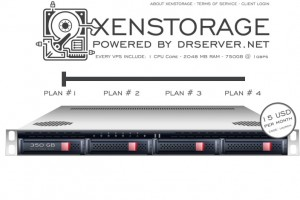 DrServer.net – XenStorage 100GB & 512MB RAM only $20/Year – OpenVZ VPS from $1/Month