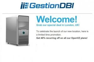 Gestion DBI – Grab special deal in London, UK!
