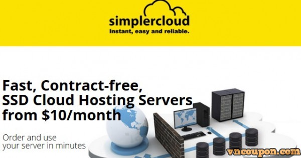 SimplerCloud – 50% OFF 1GB RAM KVM SSD VPS only $5/month in Singapore