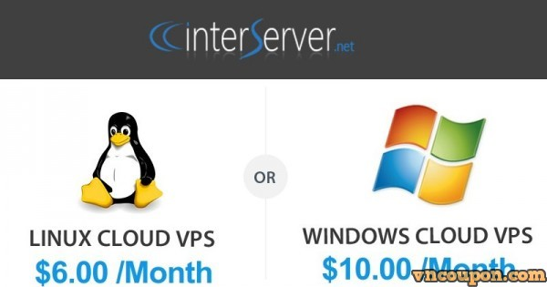 [ Free Trial VPS ] InterServer – 1GB RAM VPS only 0.01$ For First Month