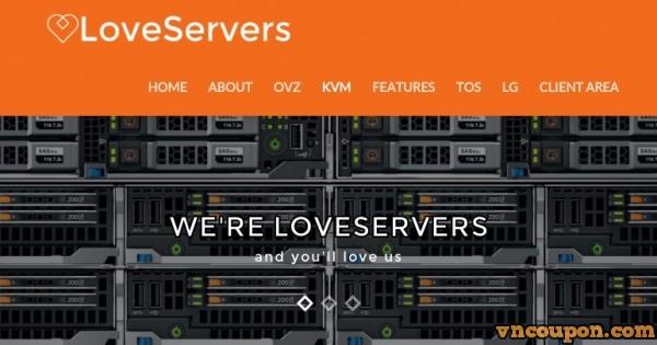 LoveServers – Special UK VPS Hosting from £15/year