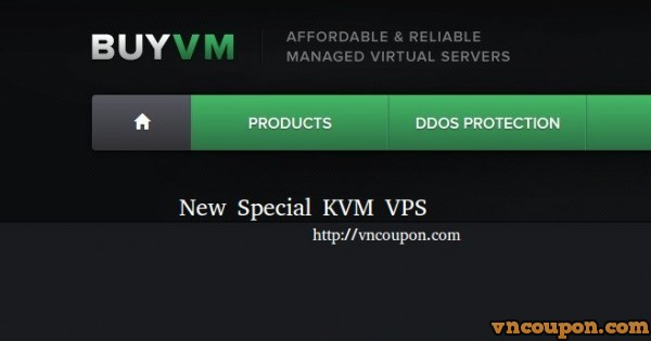 BuyVM.NET – New Special KVM VPS – High Performance VPS with E3 CPU/ SSD Storage – free CN2 Bandwidth – Block Storage Slabs available