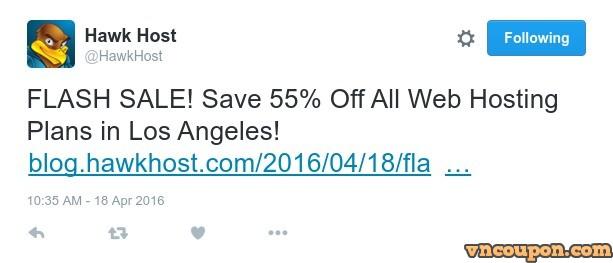 Hawk-Host-Flash-Sale-Twitter
