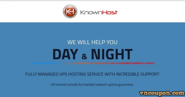 KnownHost – Best Managed VPS Hosting – 15% Lifetime Discount