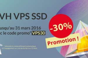 OVH SSD VPS – 30% OFF 2GB RAM/ 10GB SSD Raid 10/ KVM OpenStack only €25.12/Year