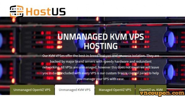 HostUS KVM VPS Relaunch in London, UK – Coupon Code Inside!