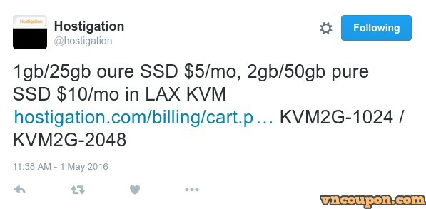 Hostigation-Twitter-Offers-Pure-SSD-KVM-Los-Angeles