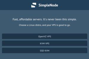 SimpleNode – Special OpenVZ & KVM VPS from $30/Year