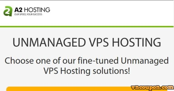 A2 Hosting – SSD VPS Promo from $5/month in US, EU, Asia