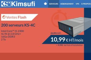 Kimsufi KS-4C – Limited Dedicated Servers only €10.99/month – Core i5 CPU/ 16GB RAM/ 2 TB Disk