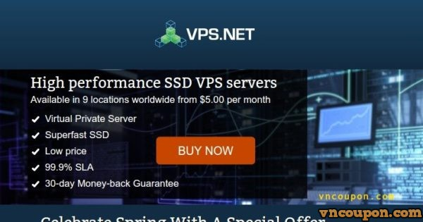 VPS.NET – $10 Free Credit for SSD VPS in 22 global locations