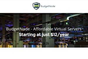 BudgetNode – Special OpenVZ VPS from $12/Year – DDoS Protected – Double RAM & Bandwidth for Cyber Week