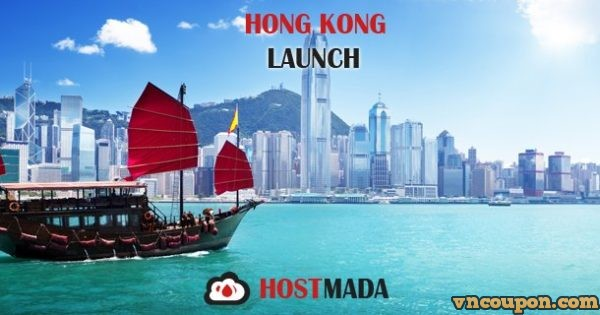 HostMada expand to Hong Kong – 15% OFF VPS Hosting & Direct China Route