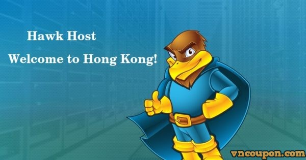 Hawk Host expand to Hong Kong, China – 30% OFF on Any New Shared Hosting