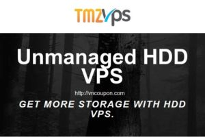 VNCoupon-TmzVPS-Unmanaged-HDD-VPS