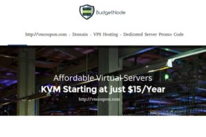 BudgetNode – Special KVM VPS in Netherlands from $15/year