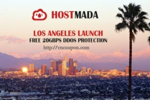 HostMada – OpenVZ VPS from $2/month in Los Angeles – Free DDos Protection