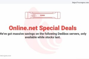 Online.net Server Specials Offer – Start-2-XS Dedibox Limited – Intel C2350/4GB RAM/500GB SATA only 4.99€/month