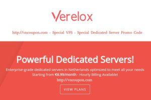 Verelox – Special Dedicated Servers from €8.99/month