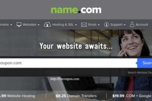 Name.com – Domain Coupon & Promo Codes in October 2016 – $8 .com/.net transfer – $8 .ORG Registration