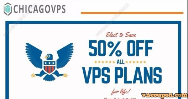 ChicagoVPS – 50% OFF Election Day Sale! – 2GB RAM Windows VPS from $4.97/month