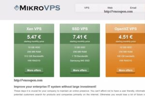 [Cyber Monday 2016] MikroVPS – 70% discount OpenVZ VPS