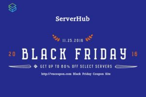 [Black Friday 2016] ServerHub – Up to 80% OFF SSD VPS