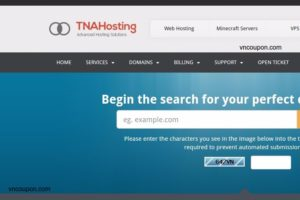 TNAHosting Special Offer – 6GB OpenVZ VPS only $5/month