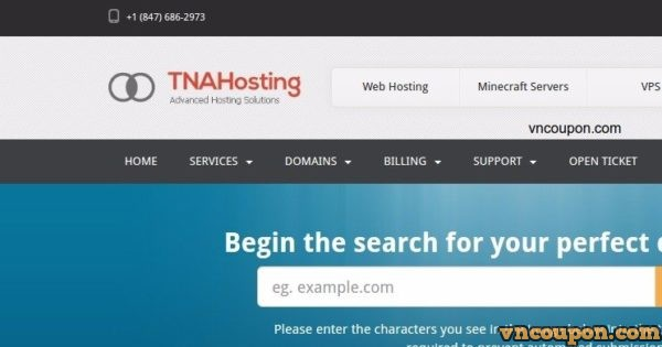 TNAHosting Special Offer – 4GB SSD OpenVZ VPS only $5/month