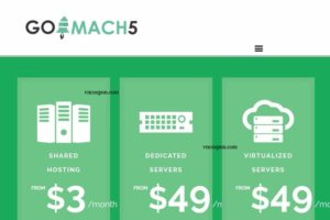 [XMAS 2016] Go Mach 5 – 50% OFF KVM VPS Hosting from $5/month