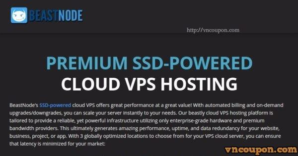 BeastNode – 4GB OpenVZ VPS only $6/month Recurring