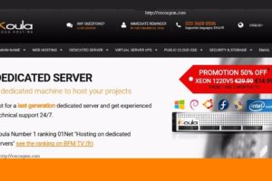 iKoula Promo – 50% OFF Dedicated Servers – Atom Dedi from €9/month – Xeon Dedi from €15/month