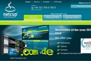Netcup.de offers 33% discount on the Root Server, vServer & Storage Server