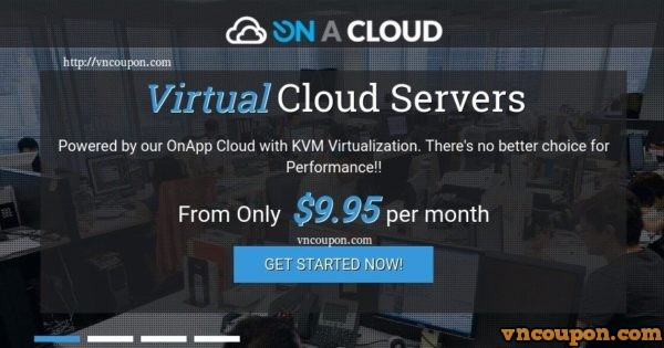 On A Cloud – 70% Off VPS Special in Melbourne, Australia from $3.2 AUD/month
