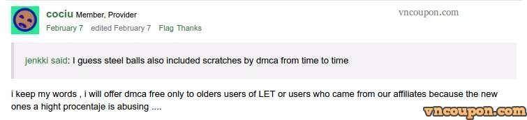HostSolutions ro Offshore VPS - No DMCA & Torrent allowed