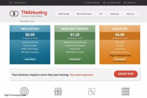 TNAHosting – SSD cPanel Shared Hosting from $5/Year