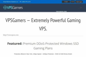 VPSGames – Extremely Powerful Gaming VPS from $15/month