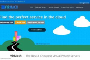 VirMach – Huge Yearly Savings SSD VPS from $3/year – KVM VPS from $5/Year