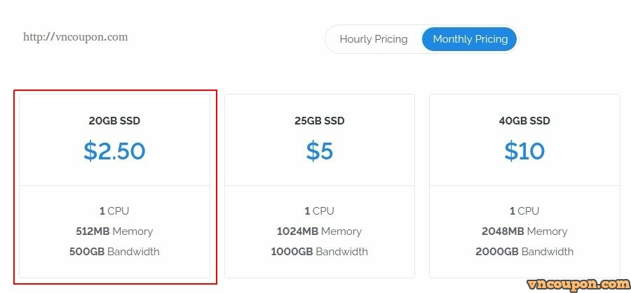 Vultr cut price 50% - Smallest Instance 512MB RAM only $2 5