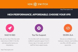IonSwitch – Special NVMe KVM VPS from $14/Year in Seattle