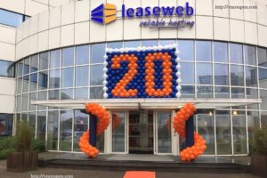 LeaseWeb celebrating 20 years anniversary – Up to 45% OFF Dedicated Servers & VPS Hosting