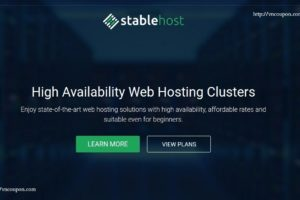 StableHost Coupon & Promo Codes in January 2018 – 80% OFF Discount on Web Hosting Unlimited Pro Plans