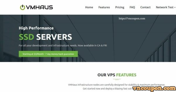 VMHaus – NVMe KVM VPS Promo from $15/Year