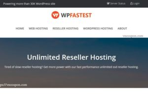WPfastest – Special Unlimited Reseller Hosting from $8/Year – 5% OFF for Master Reseller Hosting