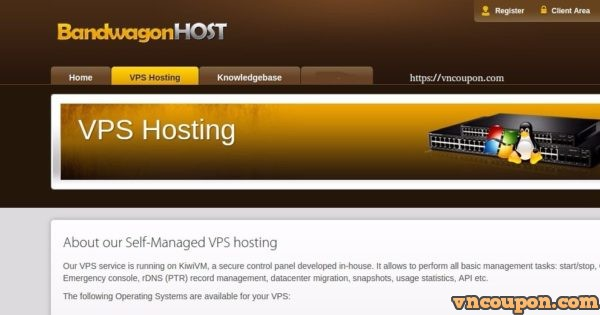 Bandwagon Host New KVM VPS Line – Promo VPS from $19.99 USD/Year
