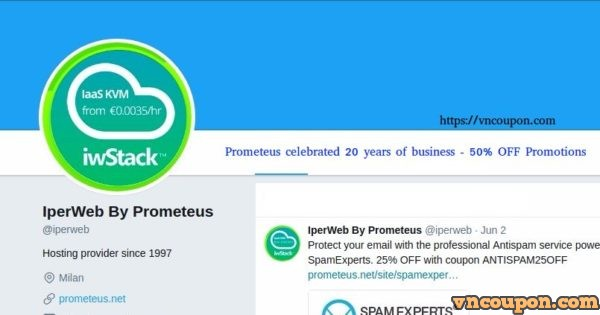 Prometeus celebrated 20 years of business – two new services and an 50% OFF Exclusive Promotion