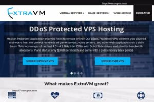 ExtraVM – NVMe KVM VPS from $3/month – DDoS Protection – Singapore Location – KVM Game Plans