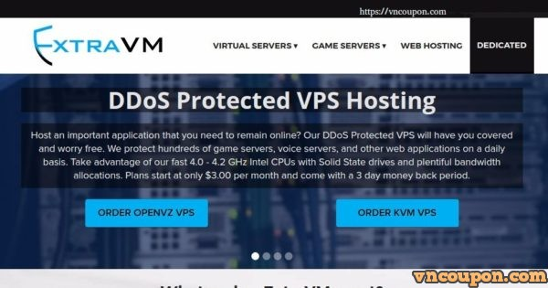 [Black Friday 2017] ExtraVM – KVM NVMe VPS starting at $12 / year – 60% off recurring Shared Hosting