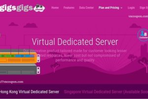 GigsGigsCloud introduce Virtual Dedicated Server (VDS) in Hong Kong