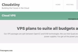 Cloudxtiny – Cheap VPS £3.00/Yr, 1TB HDD KVM VPS £5/month